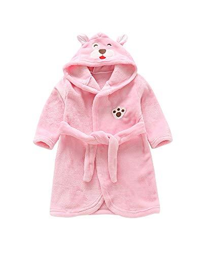 QitunC Niños Chica Chico Albornoz Camisón Animales Suave Ropa De Dormir Unisex Pijama