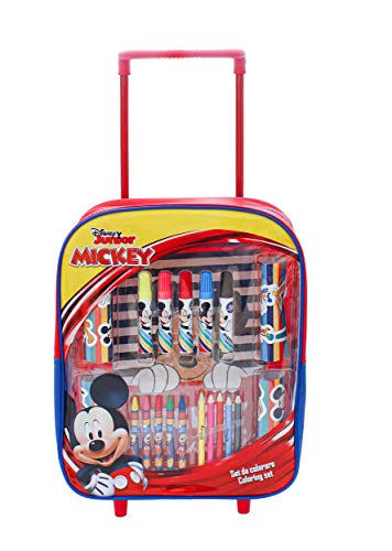 MC- Maleta con Accesorios para Colorear Mickey MIC0667