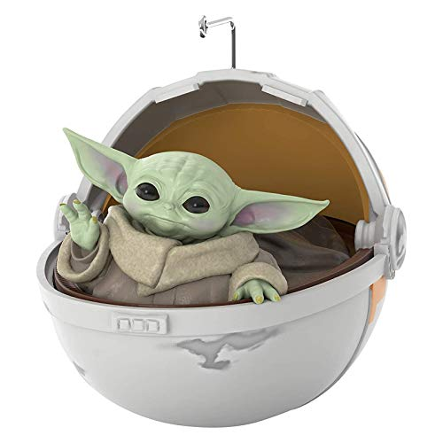 Baby Yoda Figure Toys,Christmas Ornament 2020,Christmas Tree Decorations Hanging Decorations Resin Decoration for Gifts