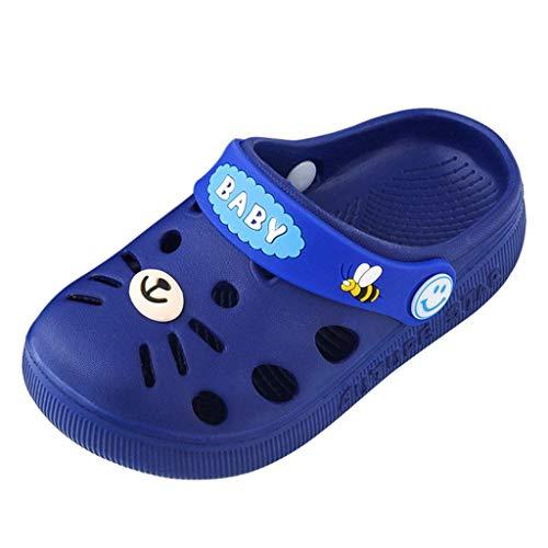 Yncc_BÉBÉ Tout-Petit Enfants Garçons Filles Sabots Classiques Slip on Jardin Chaussures d'eau Pantoufles D'été Légères Piscine Sandales de Plage