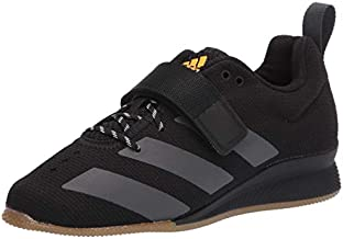 adidas Men's Adipower Weightlifting II Cross Trainer, Black/Grey/Crystal White, 10