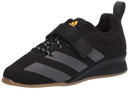 adidas Men's Adipower Weightlifting II Cross Trainer, Black/Grey/Crystal White, 11