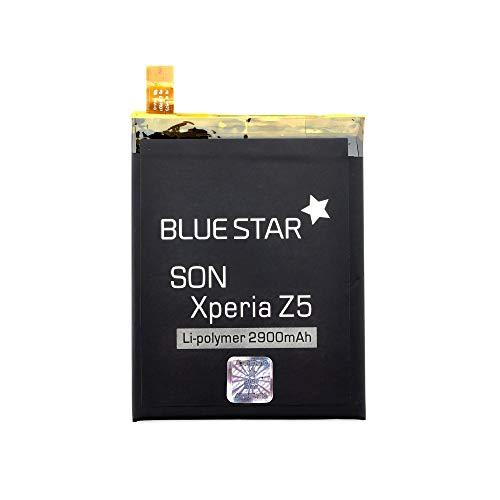 Blue Star Premium - Batería de Li-Ion Litio 2900 mAh de Capacidad Carga Rapida 2.0 Compatible con el Sony Xperia Z5