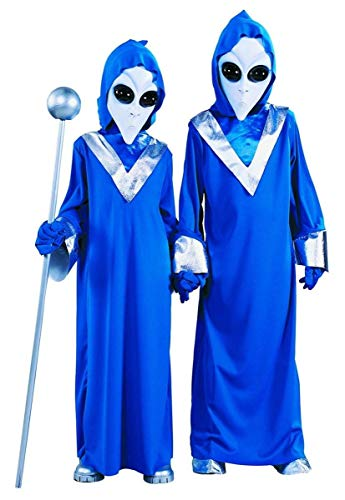 FunWorld 199540 Complete Alien Child Costume Size: Medium (8/10) by Fun World