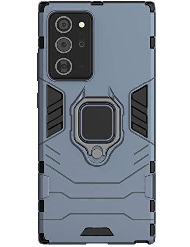 Layeri Outdoor Case Kompatibel mit Samsung Galaxy Note 20 Plus Hülle Silikon TPU Bumper + Hard PC Back Stoßfest Schutzhülle 360 Grad Ring Magnetische Galaxy Note 20 Plus Handyhülle