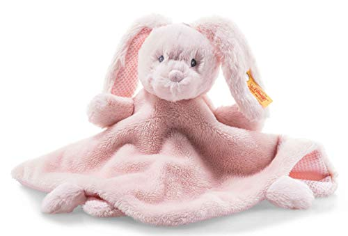 "Steiff Belle Bunny Blanket 10"" Soft Cuddly Friends -  241901"
