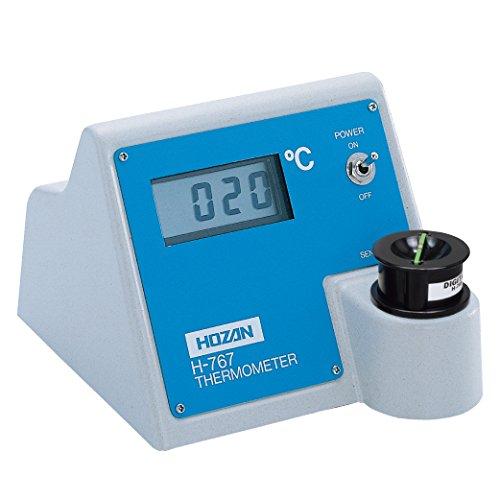 ホーザン(HOZAN) ハンダゴテ温度計 半田ごて温度計 持ち回りに便利な電池式のデジタル温度計 H-767