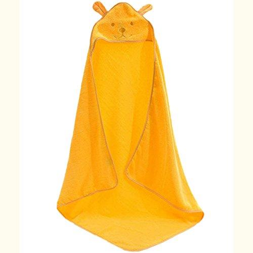 Elaiya Baby Katoen Hooded Badhanddoek Wrap Robe Mantel Leuke Pasgeborenen Baden Badjas Zachte 0-7 Jaar Child Beach Handdoeken 39