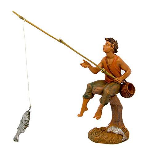 Fontanini Statuine Presepe: Pastori a Pesca 10 cm 211