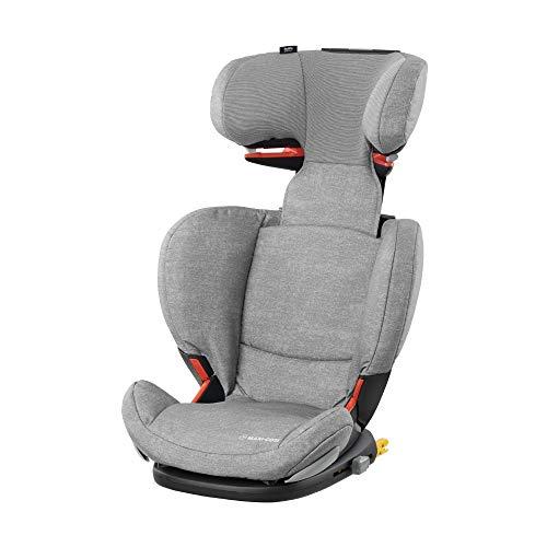 Maxi Cosi RodiFix AirProtect (AP) Kindersitz Gruppe 2/3, ISOFIX-Sitzerhöhung, optimaler Seitenaufprallschutz, 3,5 - 12 Jahre, 15 - 36 kg, (grau) Nomad Grey