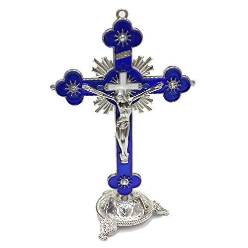 Bongles Jesus, Der Das Kreuz Statue Religiöse Gegenstände Katholische Religions Figuren Und Statuen Geschenke Für Männer Frauen