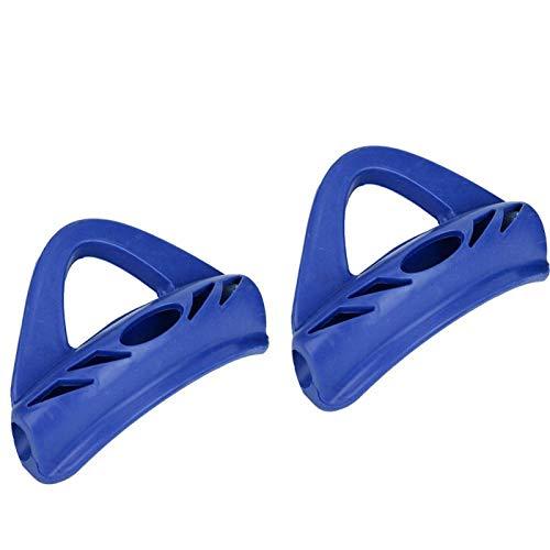 Germerse Correa para el talón con Aletas de natación, Accesorio de Aletas de natación duraderas para Mantener el Buceo, Accesorio de Aletas de natación para Aletas de natación(Blue)