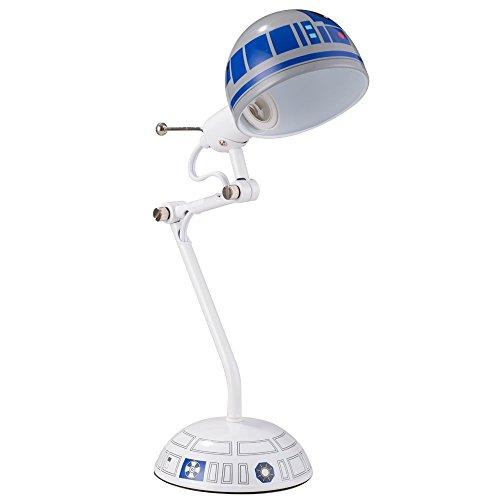Disney Star Wars Desk Lamp, White/Blue, 17