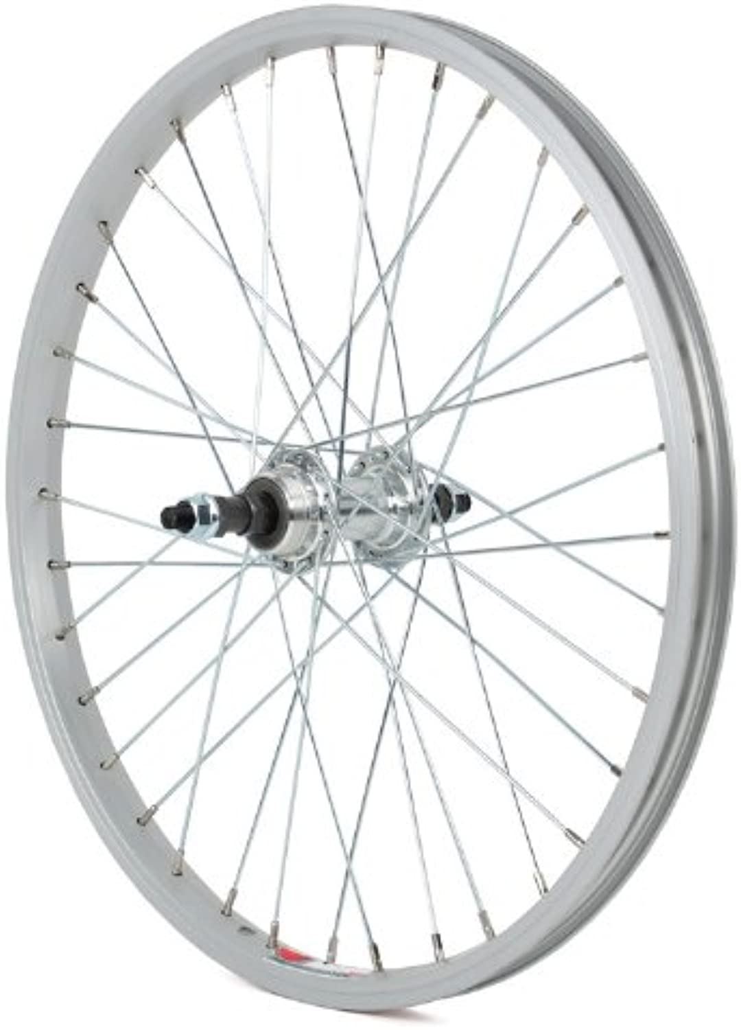 Sta Tru RWS2015AF Rear ST1 KT 8 Speed Tuned Wheels with 3 8Inch Axle, 20mm x 1.5Inch, Nutted Silver