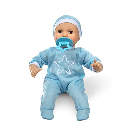 """Melissa & Doug Mine to Love Jordan 12"""" Baby Doll (Includes Romper, Cap, Pacifier, Great Gift for Girls and Boys - Best for Babies, 18 Month Olds, 24 Month Olds, 1 and 2 Year Olds )"""