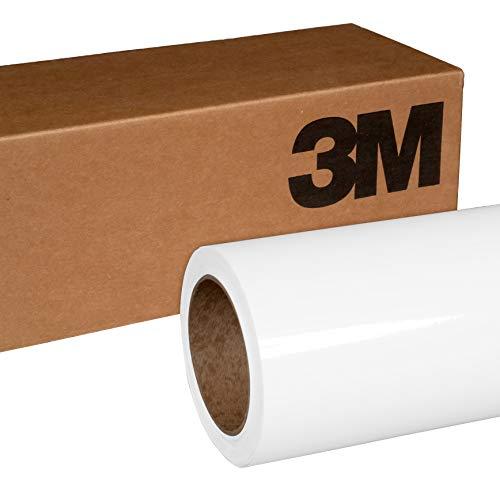 3M 2080 G10 Gloss White 5ft x 10ft (50 Sq/ft) Car Wrap Vinyl Film