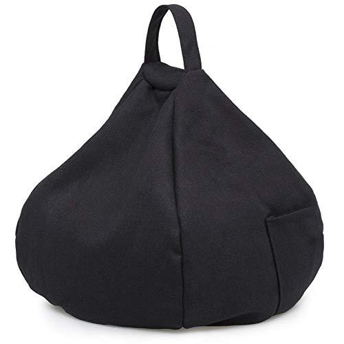 Mississ Multifunktionsauto-Ausgangskissen-Kissen, Sich verjüngende nachgemachte Hanf-Tasche mit Seitentasche für Tablet-Telefon-Gläser advantageous