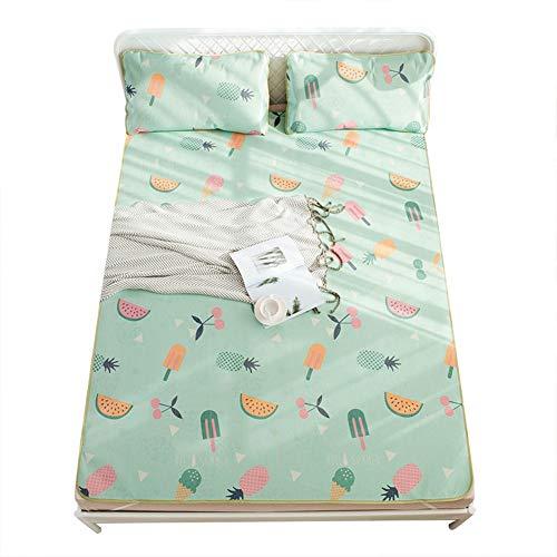 TOPINCN Summer Ice Silk Cover Natuurlijke Koeling Bamboe Blend Cover Slaapmat Kussensloop Ultra Zacht Koel Hypoallergeen