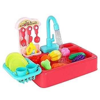 Baignoire automatique pour oiseaux, baignoire jouet automatique pour animaux de compagnie avec mangeoire pour oiseaux, baignoire pour jouets de bain adaptée aux perroquets et petits animaux compagnie