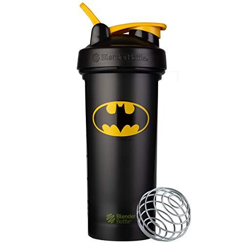 BlenderBottle Justice League Shaker Bottle, Classic V2, Batman