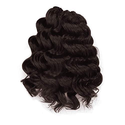Ocean Wave Crochet Hair 9 Inch 8packs Ocean Wave Crochet Braids Synthetic Hair Extensions ToyoTree (9 inch, 4)