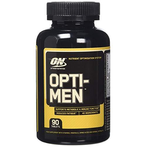 Optimum Nutrition ON Optimen Multivitamin Kapseln, Vitamine und Mineralstoffe Tabletten für Männer mit Zink, Magnesium und Aminosäuren Komplex Hochdosiert, 30 Portionen 90 Kapseln