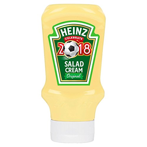 Heinz Salad Cream Original Squeezy Top Down 425g - Salatcreme