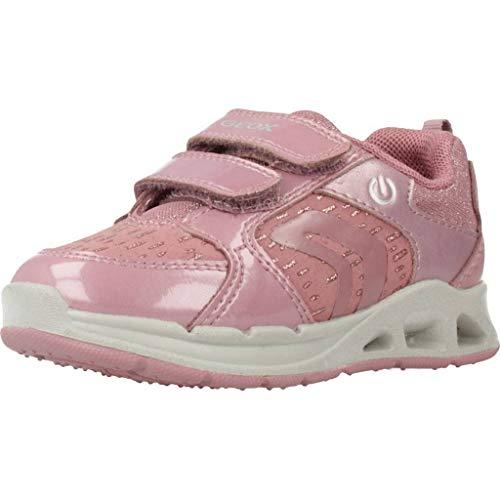 Geox Sportschuhe für Mädchen B942VA 0HIAF B Dakin C8006 DK PINK Schuhgröße 23