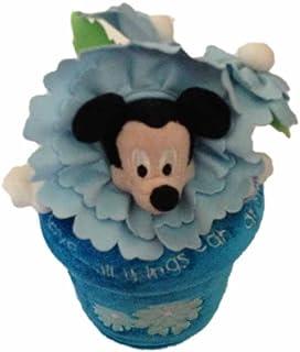 Flower Pot Mickey Mouse Plush