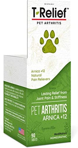 MediNatura T Relief Pet Arthritis Pain with Arnica 12 Active Pain Relievers 90 Tablets product image
