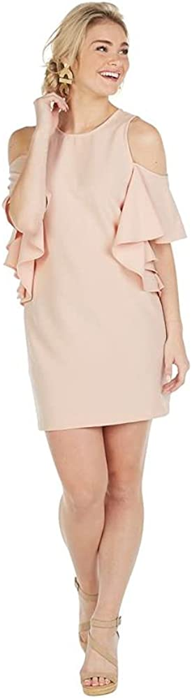 Mud Pie Women's Birdie Ruffle Dress Pink
