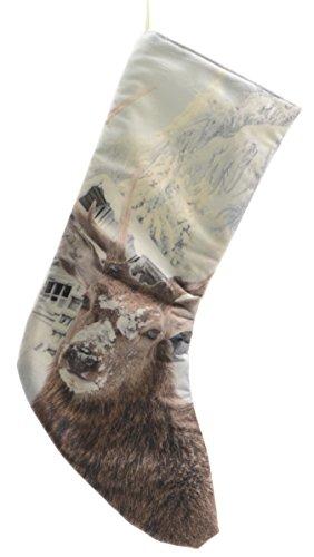Natale Calza 'cervo invernali' 45 cm Natale Calza - cervo - Natale calze