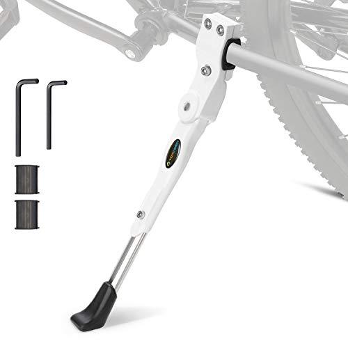 TOPCABIN Fahrrad Seitenständer Fahrrad Ständer Hinterbauständer Einstellbarer Universal Fahrradständer für 22