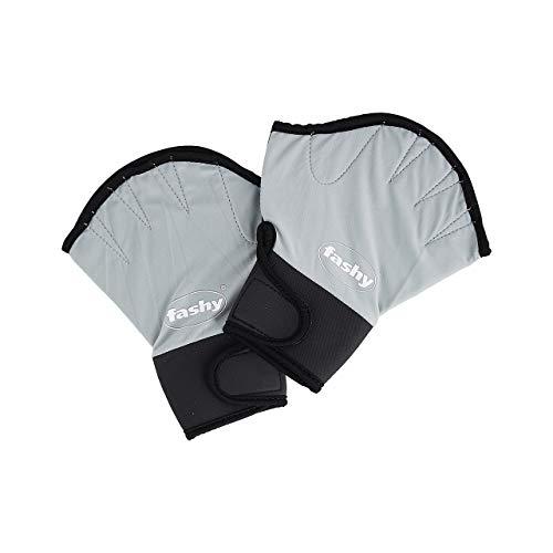 Fashy Aqua Handschuhe, Silber/schwarz, L, 4462 L