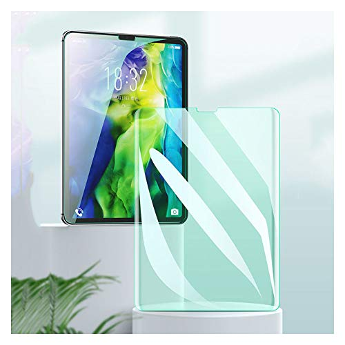 Protector de Pantalla de Vidrio Templado para Tableta, antiarañazos, sin Burbujas para iPad 2019 de 10,2 Pulgadas