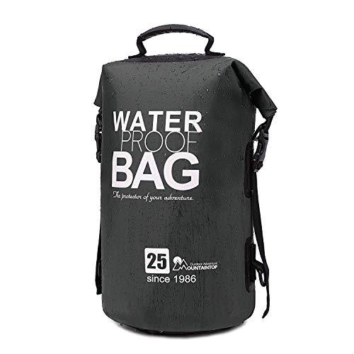 MOUNTAINTOP Trockentasche 25L wasserdichte Taschen,ideal für Bootfahren/Kajakfahren/Angeln/Rafting/Schwimmen/Camping