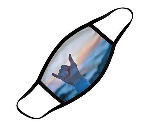 ORWONet – Mundbedeckung Bedrucken für Groß und Klein | Community-Maske in 3 Größen | waschbar: 60 °C | vollflächig Bedruckt Made in Germany | Mund- und Nasenmaske Bedrucken Lassen (Large)