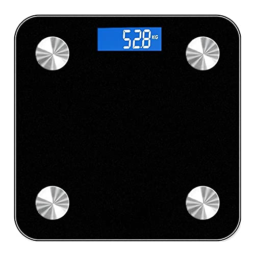 Jack Mei Body Fat Scale Smart BMI Scale Digital Bathroom Wireless Weight Scale, Body Composition Analyzer with Smartphone App sync with Bluetooth
