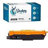 Donkey pc - Toner Compatible TN-243C TN243C Reemplazo para Brother HL-L3210CW HL-L3230CDW HL-L3270CDW MFC-L3710CDW MFC-L3750CDW MFC-L3770CDW MFC-L3730CDW DCP-L3510CDW DCP-L3550CDW (1000 Páginas)