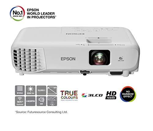Epson EB-W05 WXGA 3LCD-Projektor (WXGA 1280 x 800 Pixel, 3300 Lumen, 15.000:1 Kontrast)