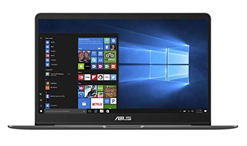 Asus Zenbook UX510UW-CN058T 39,6 cm (15,6 Zoll FHD matt) Laptop (Intel Core i7-7500U, 8GB RAM, 256GB SSD, 1TB HDD, Nvidia Geforce GTX960M, Win 10) grau (Generalüberholt)