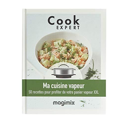 Magimix - Libro de cocina a vapor para cook expert