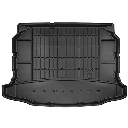DBS Tapis de Coffre Auto - sur Mesure - Bac de Coffre pour Voiture - Rebords Surélevés - Caoutchouc Haute qualité - Antidérapant - Simple d'entretien - 1766586