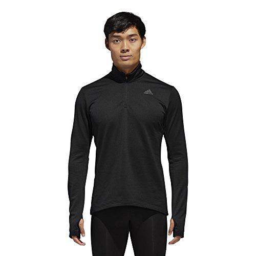 adidas Running Response Climawarm 1/2 Zip Top Chaqueta, Hombre, Negro, XX-Large
