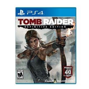 Square Enix Genuine Tomb Raider Definitive Ed PS4