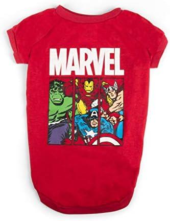 Marvel Comics Superhero Characters Dog T Shirt product image