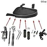 GIDup Fahrrad Reparatur Set - Fahrrad Werkzeug Set mit Fahrrad Flickzeug - 16 in 1 Fahrrad Multitool - robuste Fahrrad