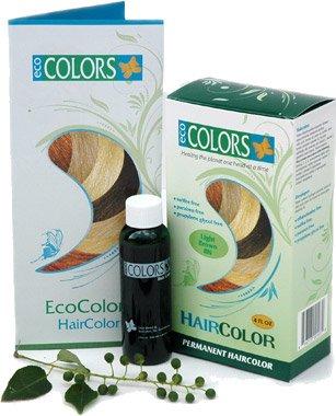 EcoColors Natural Hair Color Dark Brown - 5N (4oz)