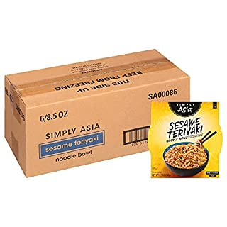 Simply Asia Sesame Teriyaki Noodle Bowl with Toasted Sesame Seeds, 8.5 oz (Pack of 6) (B000HDL1LC) | Amazon price tracker / tracking, Amazon price history charts, Amazon price watches, Amazon price drop alerts
