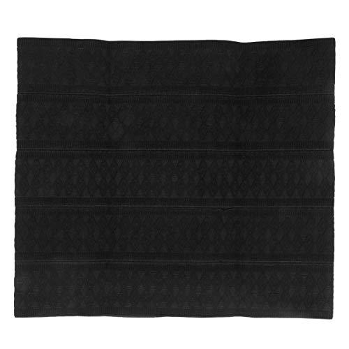 Wakauto Mens Adjustable Abdomen Belt Minus Beer Belly Waist Trimmer Body Shaper Lumbar Back Support Corset Waist Cincher/Girdle/Waist Trainer. (XXXL, Black)